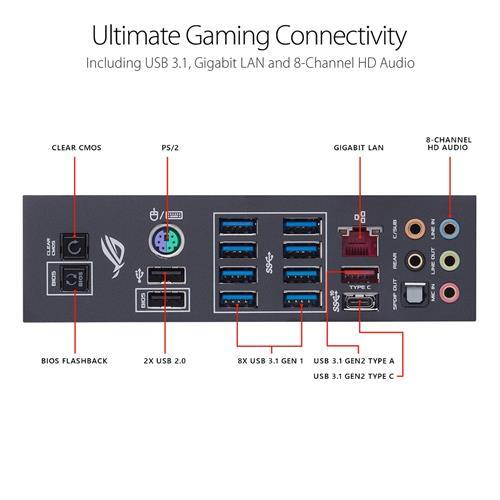 ASUS ROG CROSSHAIR VII HERO Socket AM4 AMD X470 Chipset | Canada
