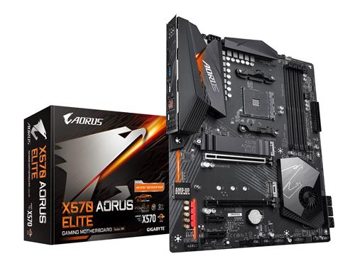 GIGABYTE X570 AORUS ELITE Motherboard with 12+2 Phase Digital VRM