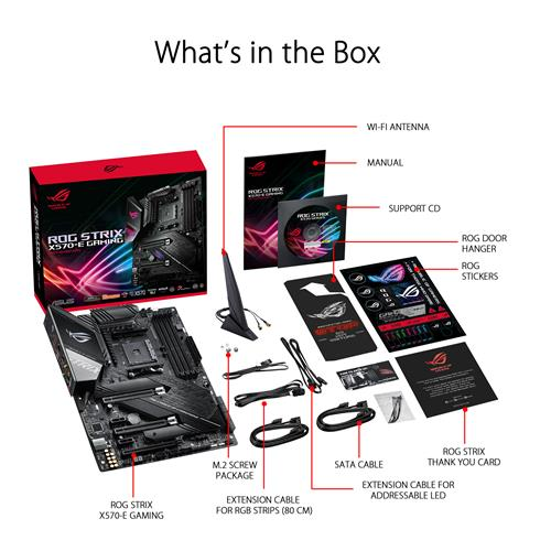 Asus Rog Strix X570 E Gaming Amd X570 Atx Gaming Motherboard Canada Computers Electronics