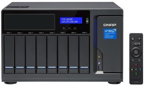 QNAP TVS-882BR Network Attached Storage 8-Bay NAS - Intel i7