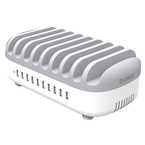 ORICO 10 Ports USB Charging Station Dock with Holder