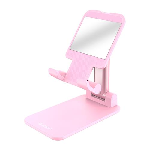 ORICO Phone Holder with Mirror- Pink