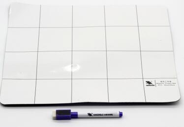 King'sdun 20*25cm Magnetic Absorb Operating Mat for Cellphone and Computer ,1pcs magenetic mat and 1pcs pen (KS-6355)