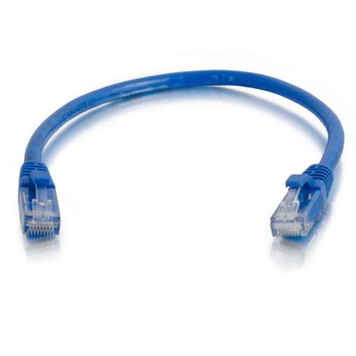 10ft CAT 6 550Mhz SNAGLESS PATCH CABLE BLUE - 25 Pack
