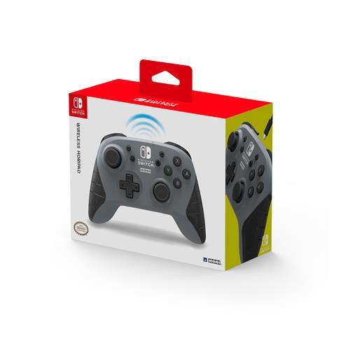 HORI Wireless Horipad Nintendo Switch Controller - Grey