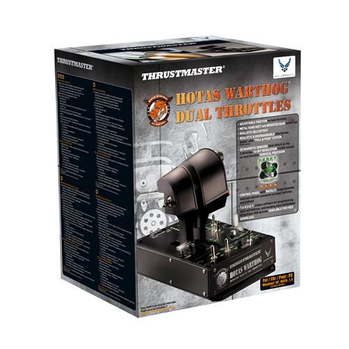 THRUSTMASTER HOTAS Warthog Dual Throttle (E-ONLY) PC