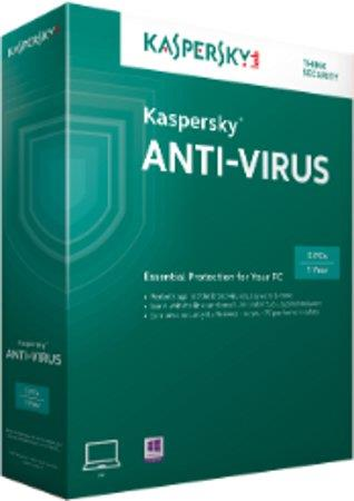 Kaspersky Antivirus 3-User 1-Year (083832314118) - Latest