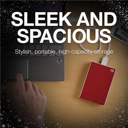 Seagate Backup Plus 4TB Red USB 3.0 Portable Hard Drive (STHP4000403)