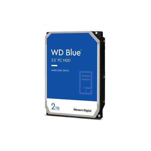 WD Blue 2TB Desktop Hard Disk Drive - 7200 RPM SATA 6Gb/s 256MB Cache