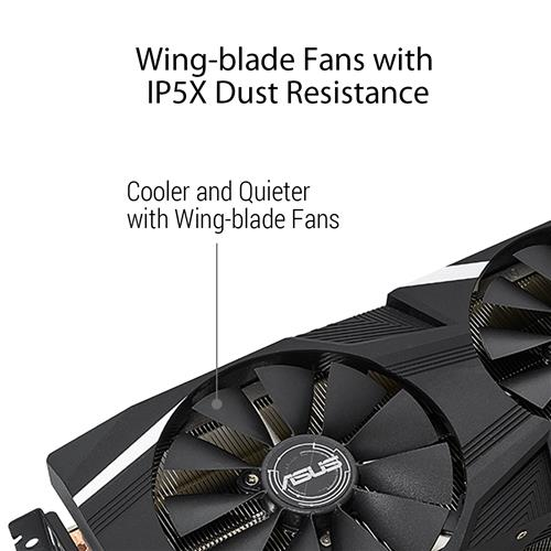 ASUS Dual GeForce RTX 2060 O6G GDDR6 | Canada Computers