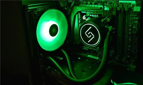 Deepcool Gammaxx L120 RGB AIO Liquid CPU Cooler, SYNC RGB