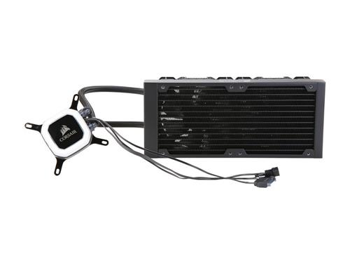 Corsair Hydro Series, H100i PRO 240mm RGB Water/Liquid CPU