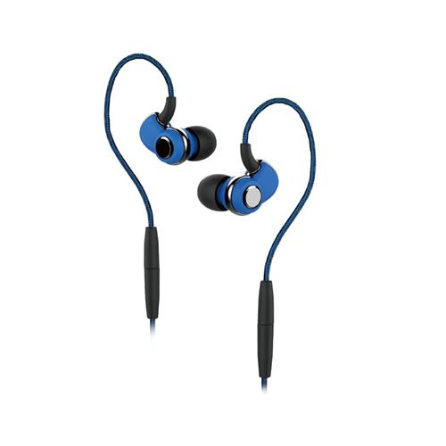 SoundMAGIC ST30 Blue Bluetooth Earphone with Mic and 3.5mm Cable