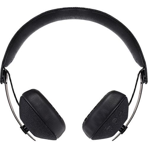 HOUSE OF MARLEY Rise BT - Wireless On-Ear Headphones (Black)