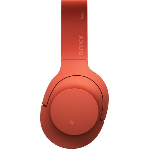 "SONY ""h.ear on"" Wireless NC Bluetooth Headphones (Cinnabar Red)"