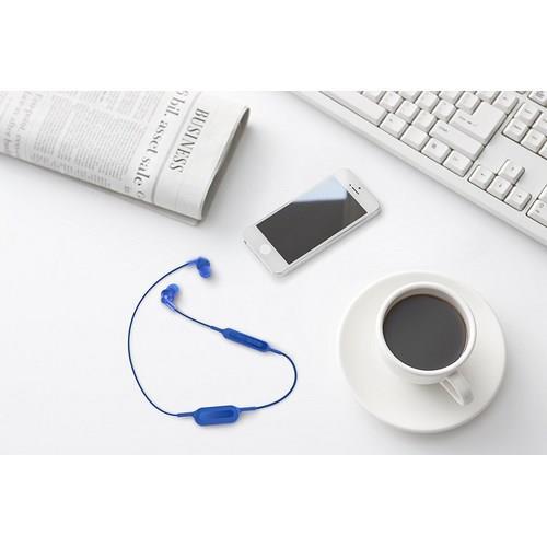 PANASONIC RP-HJE120B - Ergofit Wireless In-Ear Headphones (Blue)