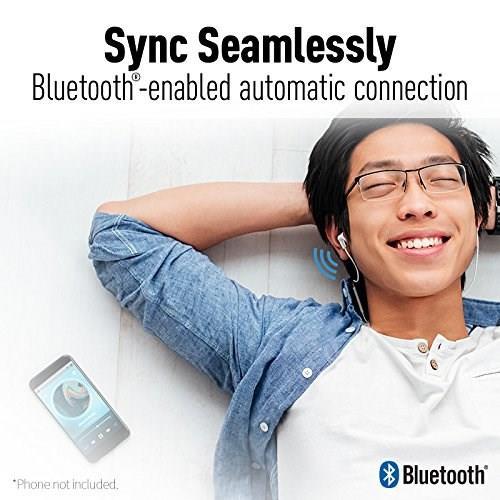 PANASONIC RP-HJE120B - Ergofit Wireless In-Ear Headphones (Black)