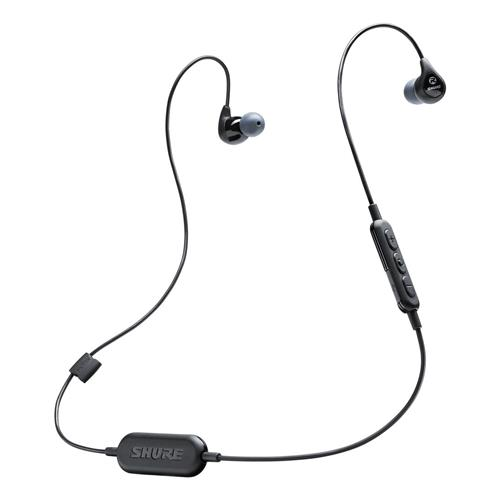 Shure SE112 Sound Isolating Earphones with Bluetooth Communication Cable (Black)