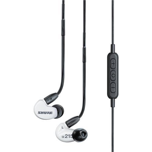 Shure Sound Isolating Earphones White SE215SPE-W-BT1