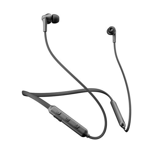 MEE audio N1 Bluetooth Wireless Neckband In-Ear Headphones (Black)