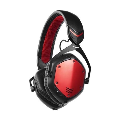 V-MODA Crossfade Bluetooth Wireless Headphones Red
