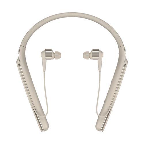 Sony WI-1000X Wireless Noise-Canceling Headphones (Gold)
