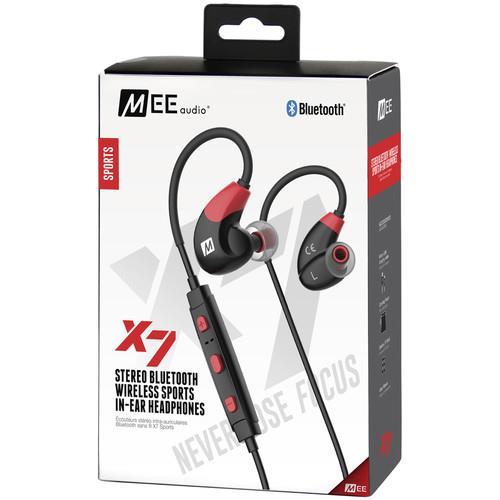 MEElectronics X7 Bluetooth In-Ear Sport Headphones (Red)