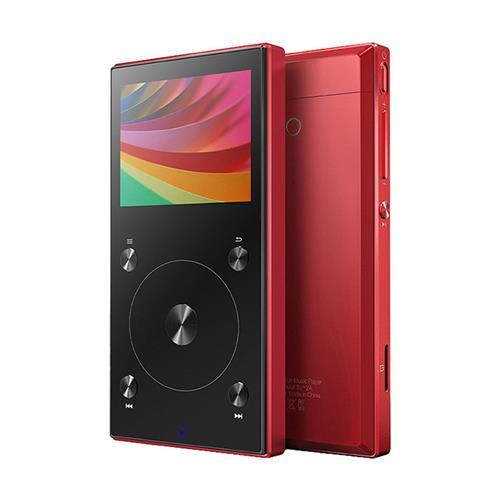 FIIO X3 Mark III Digital Audio Player with Bluetooth 4.1 (Red)
