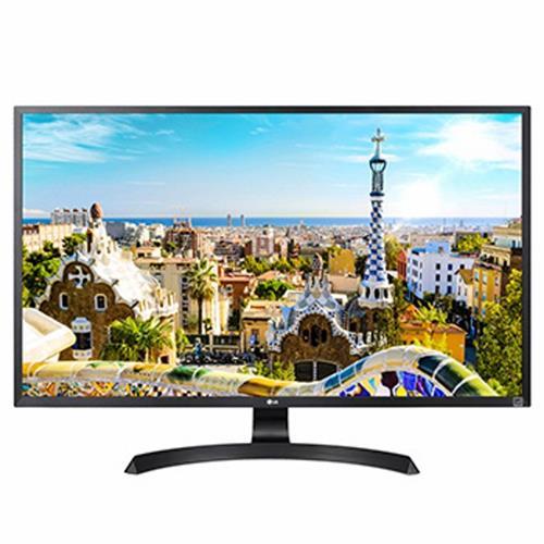 "LG 32UD59-B 32"" 4K UHD LED Monitor, 3840 x 2160, 5ms, HDCP 2.2, HDMI, DisplayPort, AMD FreeSync, On-Screen Control, Screen Split"