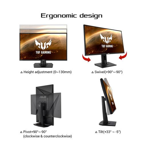 Asus Tuf Gaming Vg279qm 27 Hdr Monitor 1080p Full Hd 1920 X 1080 Canada Computers Electronics
