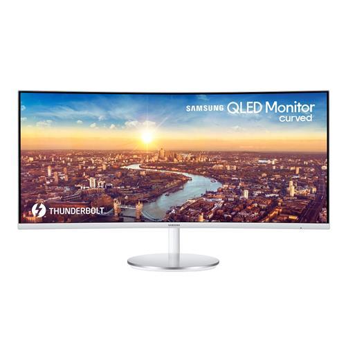 "Samsung 34"" LC34J791WTNXZA QLED Curved Monitor"