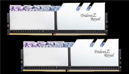 G SKILL Trident Z ROYAL (Silver) 16GB(2x8GB) DDR4 3600MHz