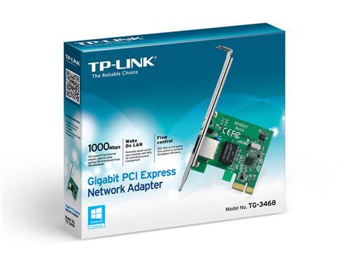 TP-LINK (TG-3468) SOHO Gigabit PCIe Network Adapter