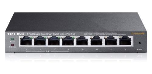 TP-LINK (TL-SG108PE) 8-Port Gigabit Desktop PoE Easy Smart