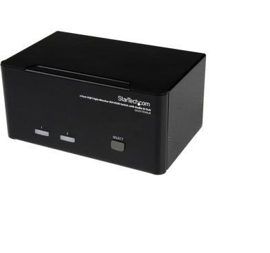STARTECH 2 Port Triple Monitor DVI USB KVM Switch   Canada