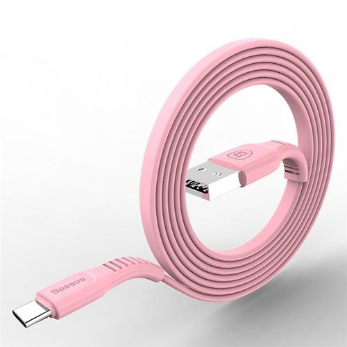 Baseus tough series cable For Type-C 2A 1M Pink