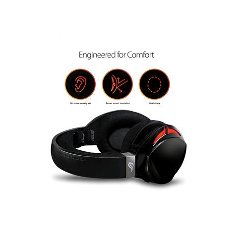 ASUS ROG Strix Fusion 300 Virtual 7.1 LED Gaming Headset with Microphone for PC/Mobile/Console (ROG STRIX FUSION 300)