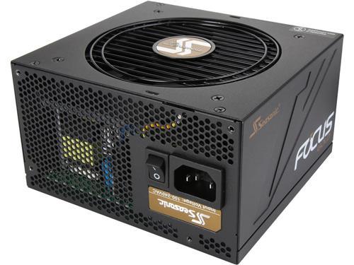 Seasonic Focus series SSR-750FM 750W 80 + Gold Semi-Modular, ATX12V/EPS12V, Compact 140 mm Size Power Supply (SSR-750FM)