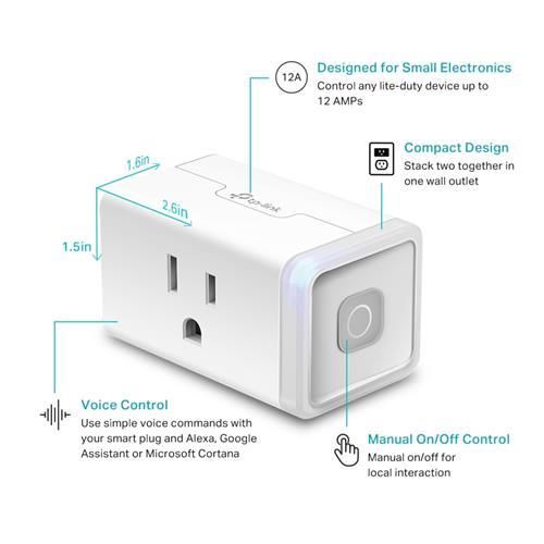 TP-Link (HS103) Kasa Smart Wi-Fi Plug Lite | Canada