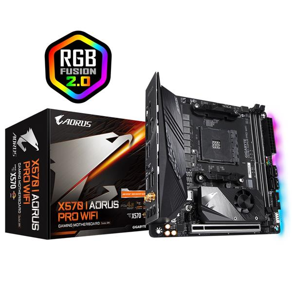 GIGABYTE X570 AORUS PRO WIFI Motherboard with Direct 8