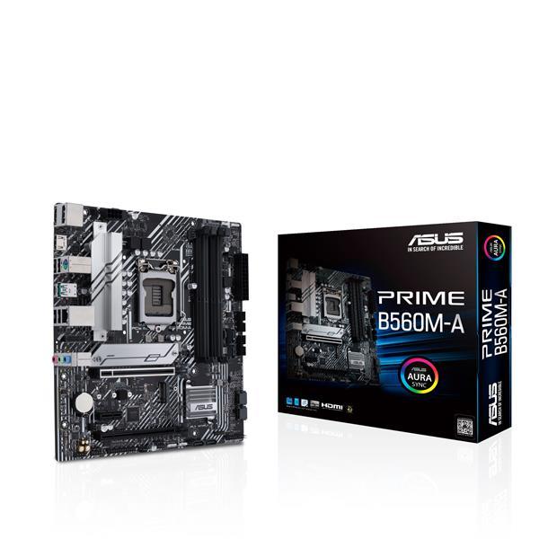 ASUS Prime B560M-A LGA 1200 (Intel 11th/10th Gen) micro ATX