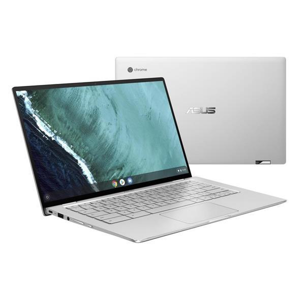 """ASUS 14"""" FHDChromebook Flip, Intel M3-8100Y, 4GB RAM, 64GB eMMC"""