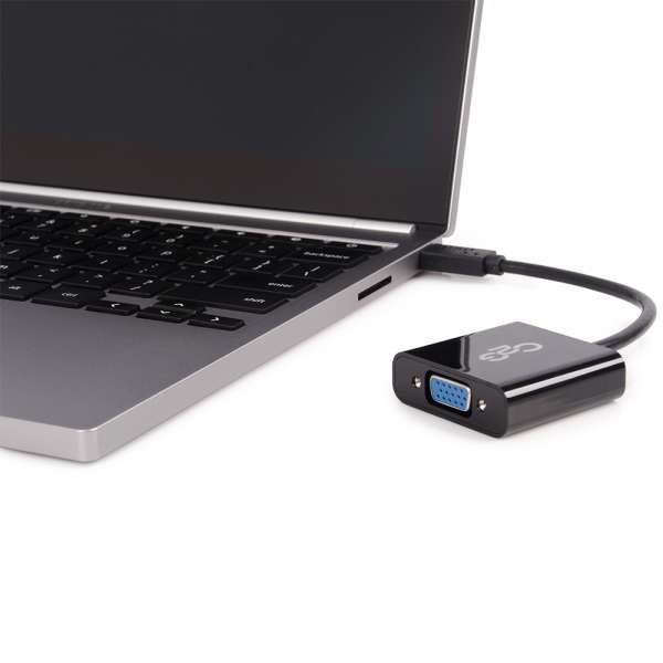 Cables to Go USB-C TO HDMI®, VGA, ETHERNET, OR USB-A ESSENTIAL ADAPTER KIT (30004)