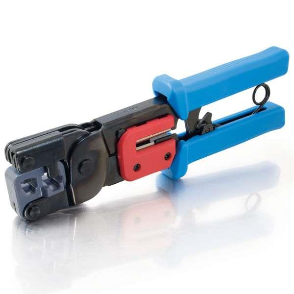 Multi-Function Telephone Tool Crimps Cuts and Strips for easy on the Jobs