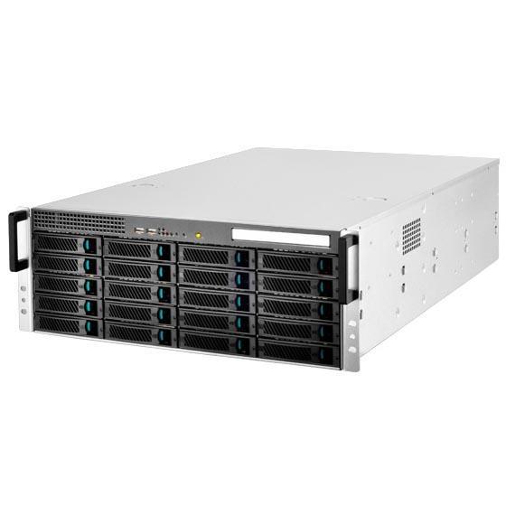 Silverstone RM420 4U Rackmount Storage Server Chassis - 20x