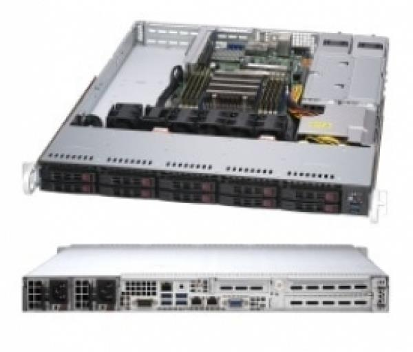 SuperMicro AMD EPYC Rome 7282 16-Core 2 8GHz 1U Rack Server