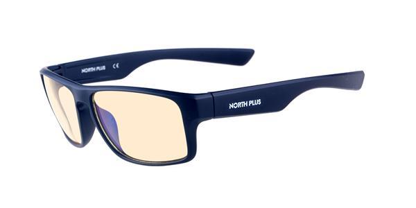 NORTH PLUS Anti-Blue Light Glasses C1 - Blue