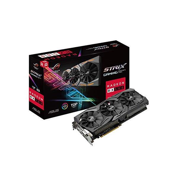 ASUS ROG Strix Radeon RX 590 8G Gaming GDDR5 DP HDMI DVI VR