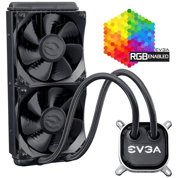 EVGA CLC 240mm All In One RGB LED CPU Liquid Cooler