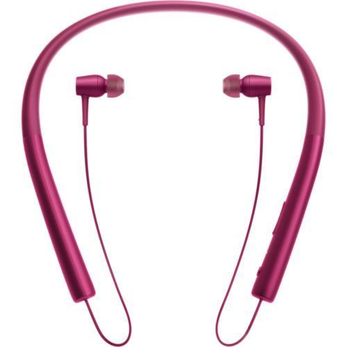 SONY h.ear in Wireless Bluetooth In-Ear Headphones (Bordeaux Pink)